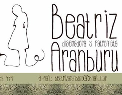 Beatriz Aranburu business cards
