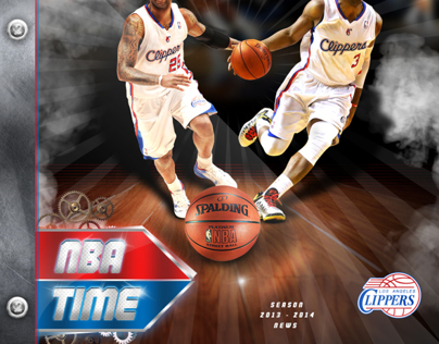 NBA Los Angeles Clippers Poster