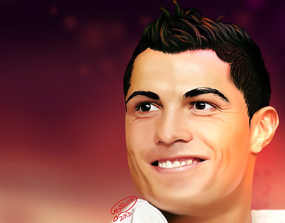 Cristiano Ronaldo | Digital Painting
