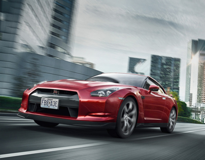 Nissan GT-R_Go Red