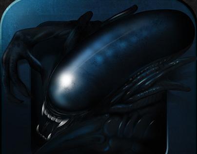 Alien Icon app art