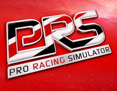 Pro Racing Simulator logo + main page design