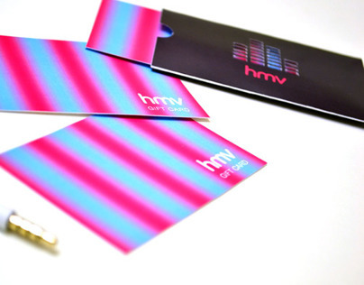 HMV - Gift Card Package Design
