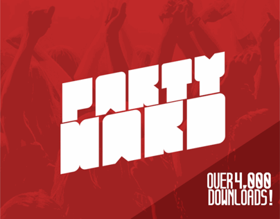 Party Hard | Free Typeface