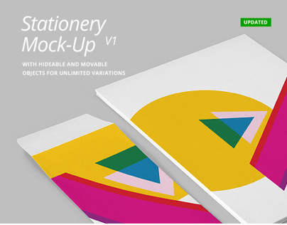 Stationery Mock-Up psd v1