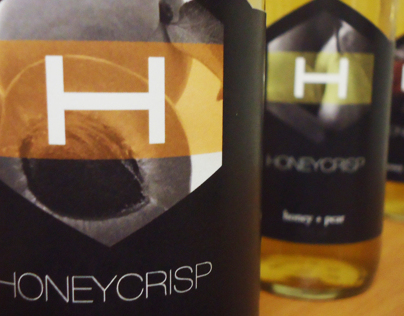 Honeycrisp Cider Packaging