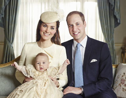Royal Christening by Jason Bell