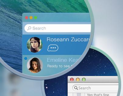 Messages.app Concept