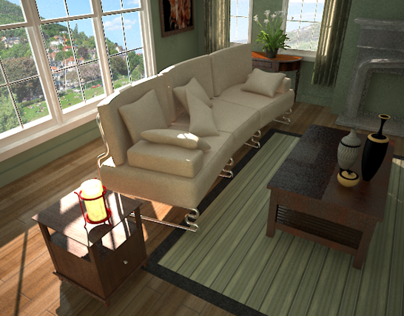 interior decoration RENDER