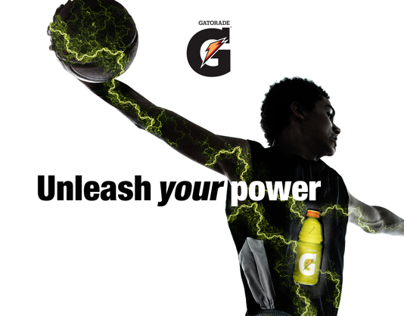 Unleash your power // Gatorade Concept