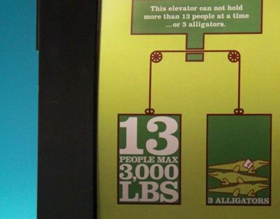 Elevators, Alligators & Penguins. Oh, My!