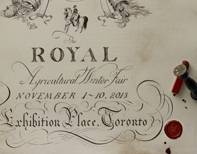 Royal Agricultural Winter Fair Poster