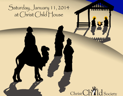 2014 Christ Child Twelfth Night invitations