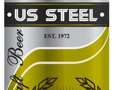 US Steel Faux Beer