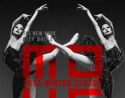 MOVE: Poster for The New York City Ballet.