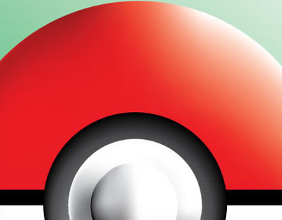 Mesh Gradient Pokeball