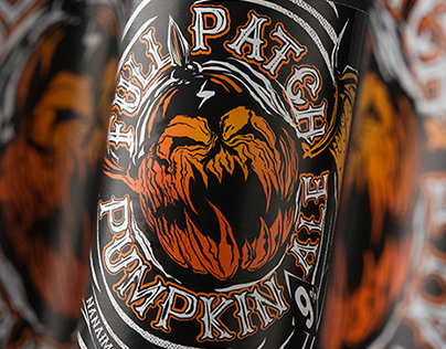 Full Patch Pumpkin Ale - Product Naming & Label Design