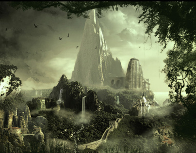Matte painting and Environment  design