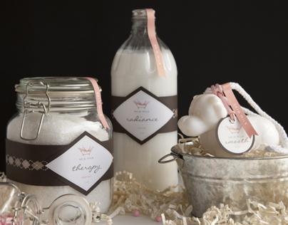 Skin Milk Brand Identity