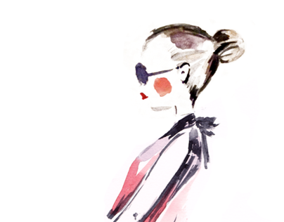 ZARA fashion illustration