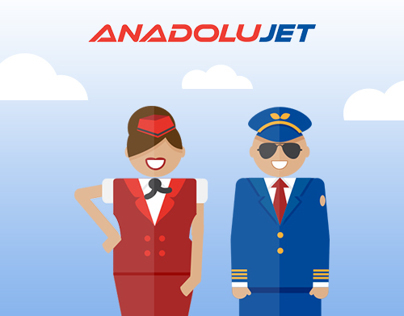 Anadolujet Illustrations