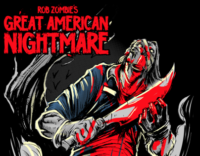 Rob Zombies Great American Nightmare Tees