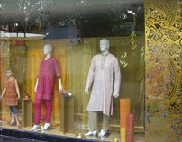 Diwali display at store West side 2007