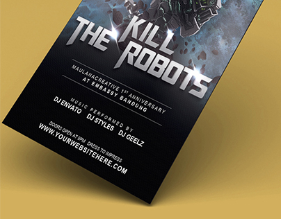 KILL THE ROBOTS
