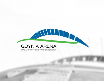 Logo concept for sports and entertainment arena