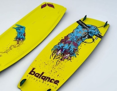 Balance Kiteboard Graphics