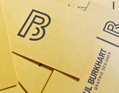 Personal Business Card - Letterpress