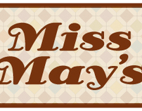 Business Branding for Miss Mays sweet treats.