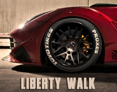 Liberty Walk Ferrari F12 Berlinetta