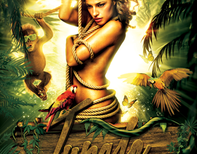 Jungle Rave Poster