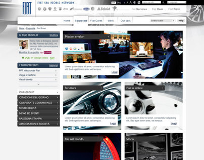 Fiat Group - Intranet