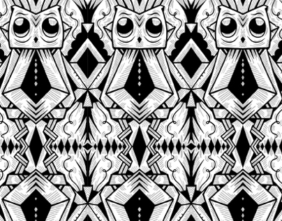patterns : black and white.