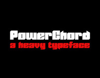 PowerChord - A Heavy Typeface