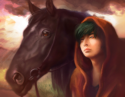"""A Boy and His Horse"" (digital, 2013)"