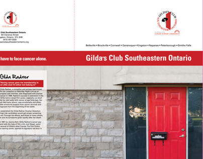 Gilda's Club Marketing Material