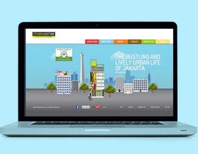 Maxone Hotel Website