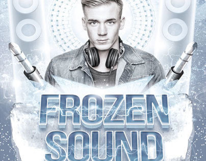 Frozen Sound Flyer Template