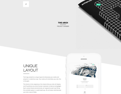 Flamingo - Agency & Freelance Portfolio Theme