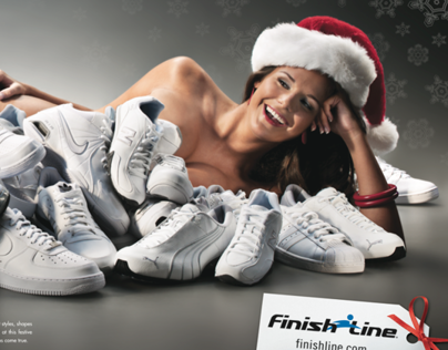 Finish Line SI Ad behind the scenes video