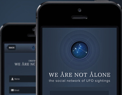 We are not alone - The app for the UFO sightings