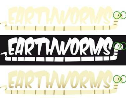 WORMS for Wizz films: Research logo and model sheet