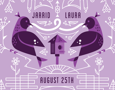 Jarrid & Laura Wedding Invite