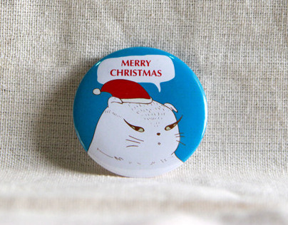 WK Button Badge Project (Christmas)