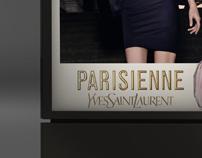 Yves Saint Laurent - logos visualisation