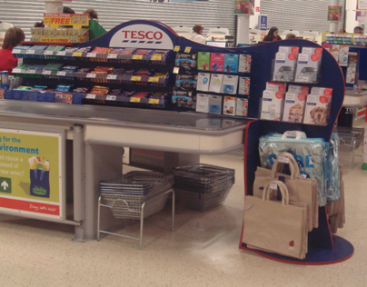 Cadbury Tesco - Point-of-Sale Checkout Redesign
