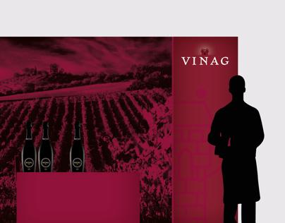 Vinag Wine cellar | Identity proposal | 2010